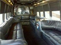 Lafitte Limo Bus Interior